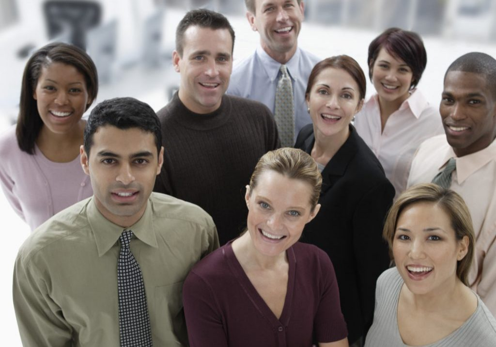 Confident Business Team --- Image by © Royalty-Free/Corbis